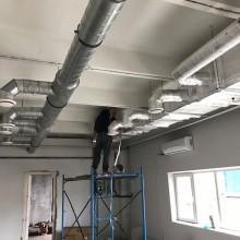 Установка системы кондиционирования и вентиляции на объекте в Люберцах, Некрасовка, лаборатория