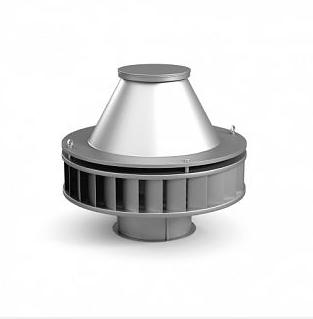 Крышный вентилятор с назад загнутыми лопатками ВКР №3,55 (0.18кВт)